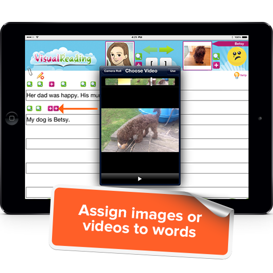 Assign Images & Videos to Words
